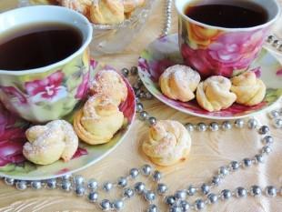 """Творожное печенье """"Чайная роза"""" - рецепт приготовления"""