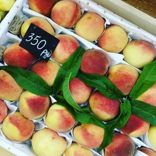 Персики из Узбекистана