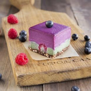 Десерт черничный с маття - купить на Экомаркете
