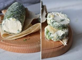 Творожный сыр из кефира и сметаны - рецепт приготовления