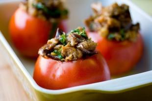 Фаршированные помидоры - рецепт приготовления