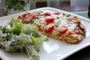 Картофельная пицца - рецепт приготовления