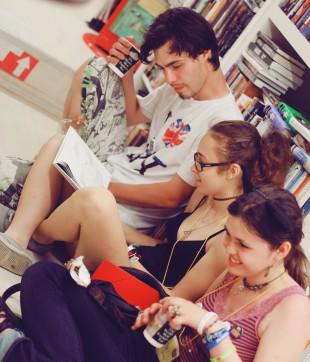 Открытие книжного магазина Dodo Space