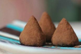 Шоколадные трюфели - рецепт приготовления