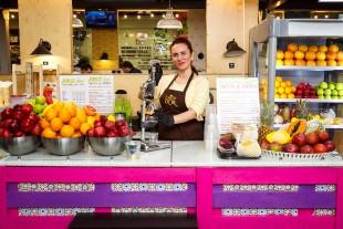 Juice Bar: свежевыжатые соки и мороженое