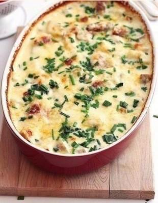 Запеченный в духовке картофель - рецепт приготовления