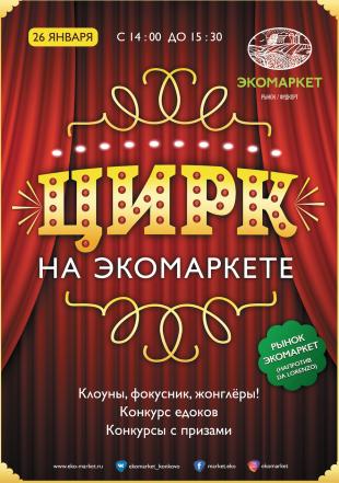 Цирк на Экомаркете