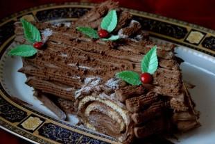Рождественское полено - рецепт приготовления