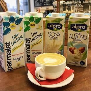 Альтернативные виды молока в Comme a Paris